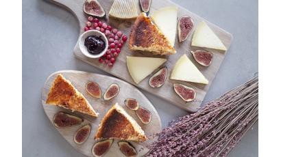 Tarta de quesos esponjosa con queso manchego Las Terceras
